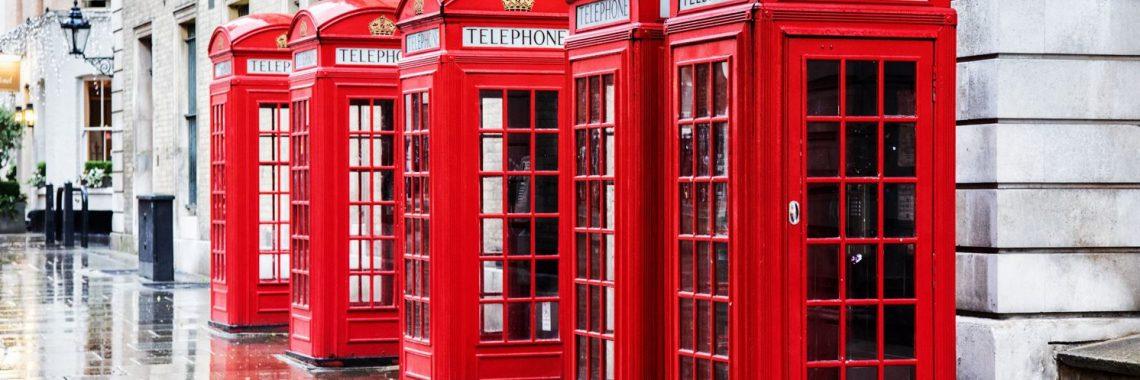 Rote Telefonzellen London